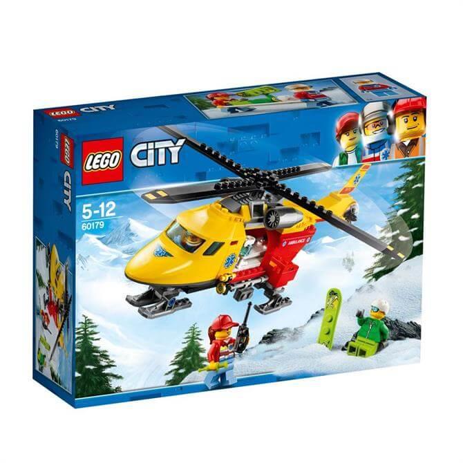 Lego City Ambulance Helicopter 60179
