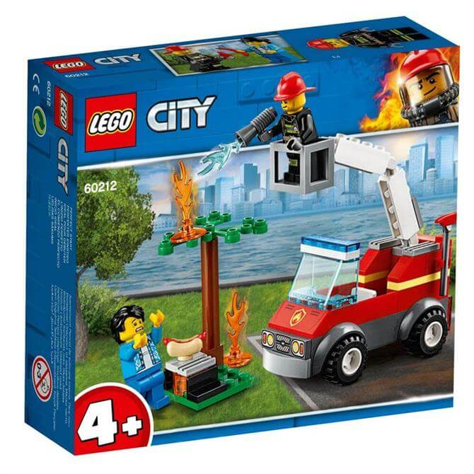 Lego City Barbecue Burn Out Set 60212