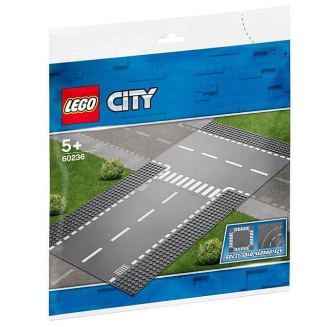 Lego City Straight and T Junction 60236