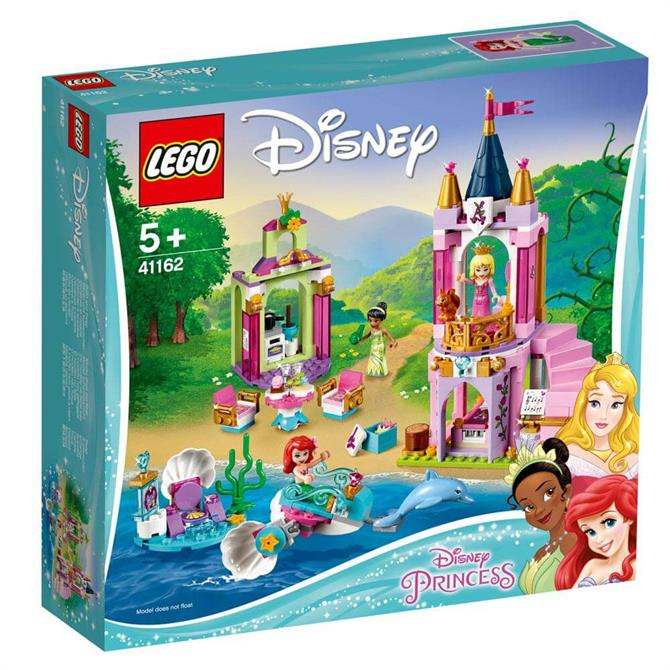 Lego Disney Ariel Aurora & Tiana's Royal Celebration 41162