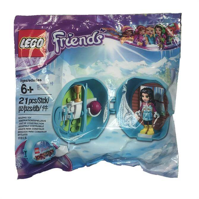 Lego Friends Pocket Winter Room – Collectible Bag 6194781