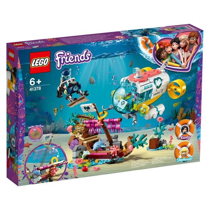 Lego Friends Dolphin Rescue Mission 41378