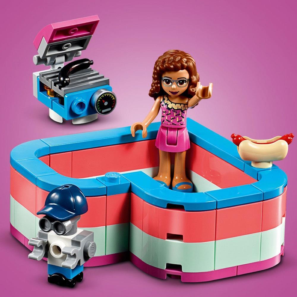Lego Friends Olivia's Summer Heart Box 41387   Jarrold ...