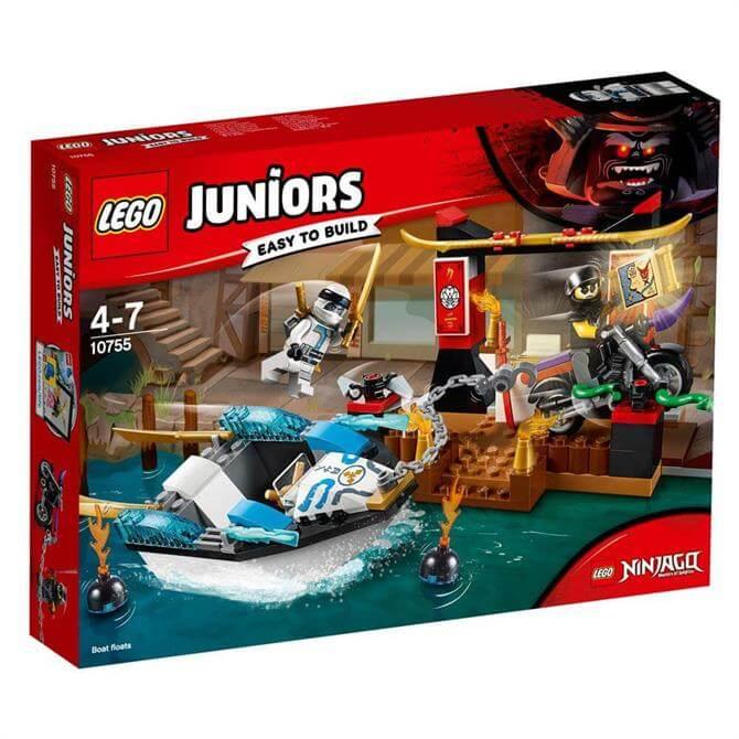 Lego Juniors Zanes Ninja Boat Pursuit 10755