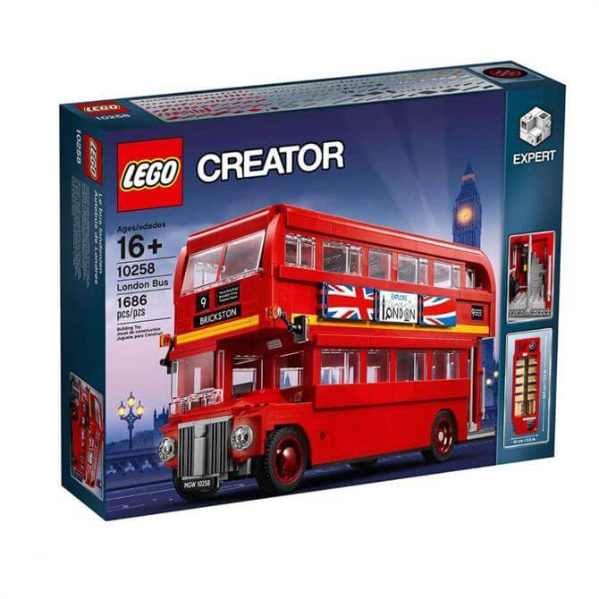 Lego Creator London Red Bus 10258