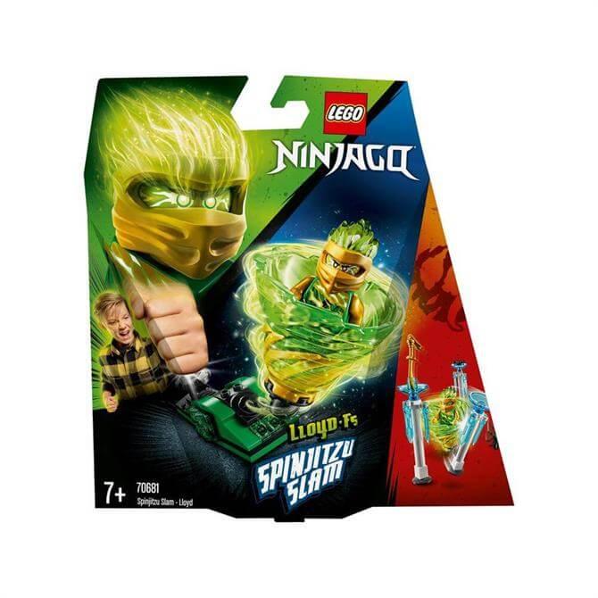 Lego Ninjago Spinjitzu Slam Lloyd 70681