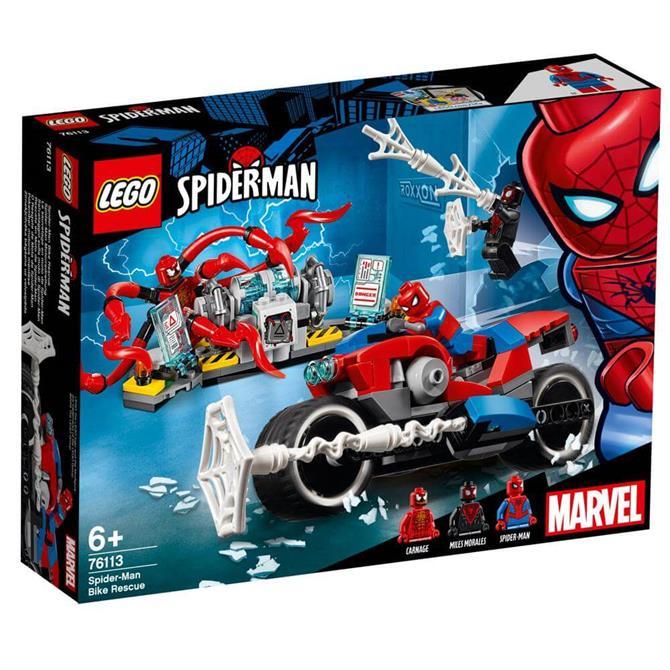 Lego Marvel Spiderman Bike Rescue 76113