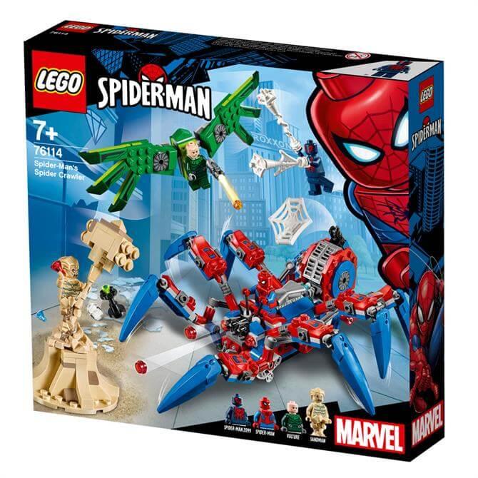 Lego Marvel Spiderman Spider Crawler 76114