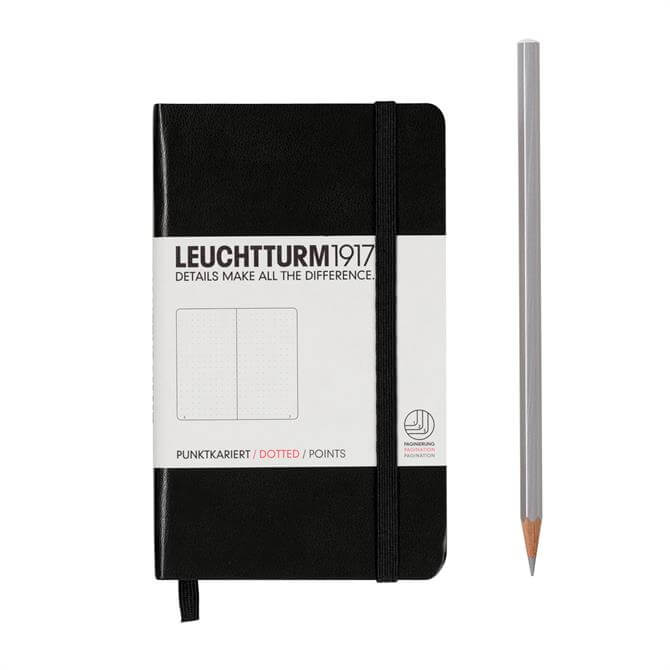 Leuchtturm A6 Pocket 185 Dotted Pages Hardcover