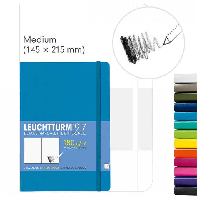 Leuchtturm Medium Sketchbook A5