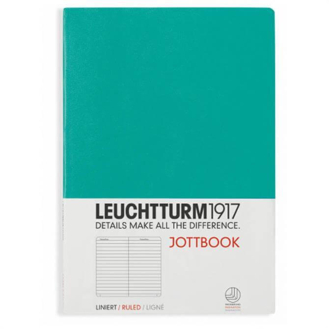 Leuchtturm A5 Ruled Notebook - Emerald