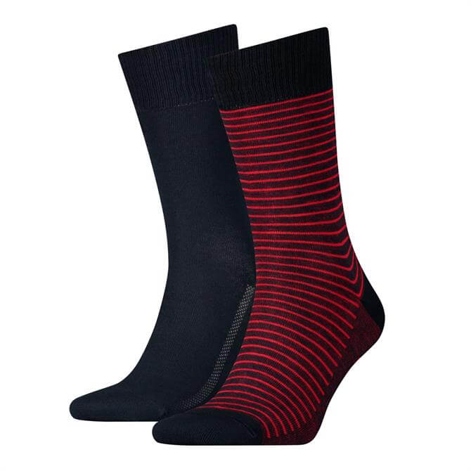 Levi's Regular Vintage Stripe 2 Pack Socks