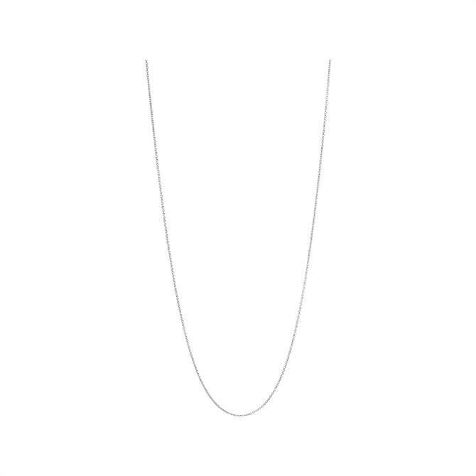 Links of London Pendant Chains Sterling Silver 1.2mm Diamond Cut Cable Chain