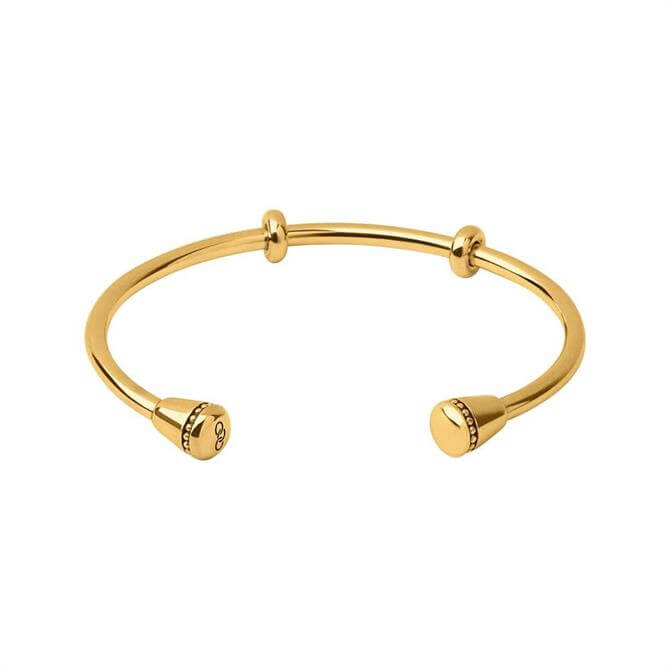 Links of London Amulet Yellow Gold Vermeil Charm Cuff