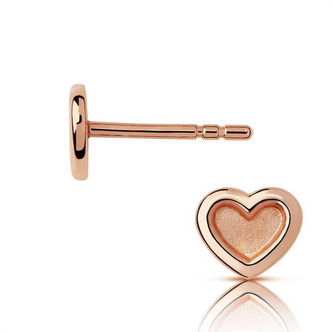 Links of London Endless Love Rose Gold Vermeil Stud Earrings
