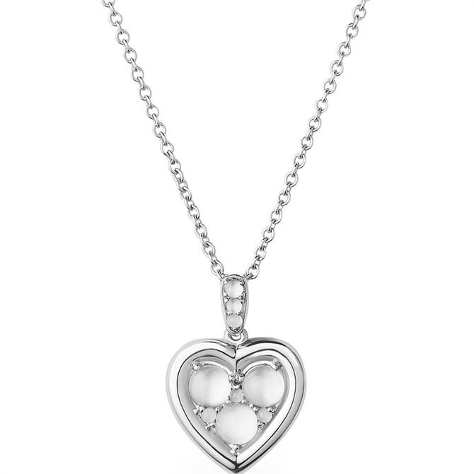 Links of London Open Heart Stainless Steel Necklace