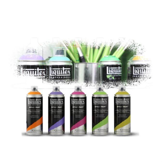 Liquitex Fluo Spray Paint