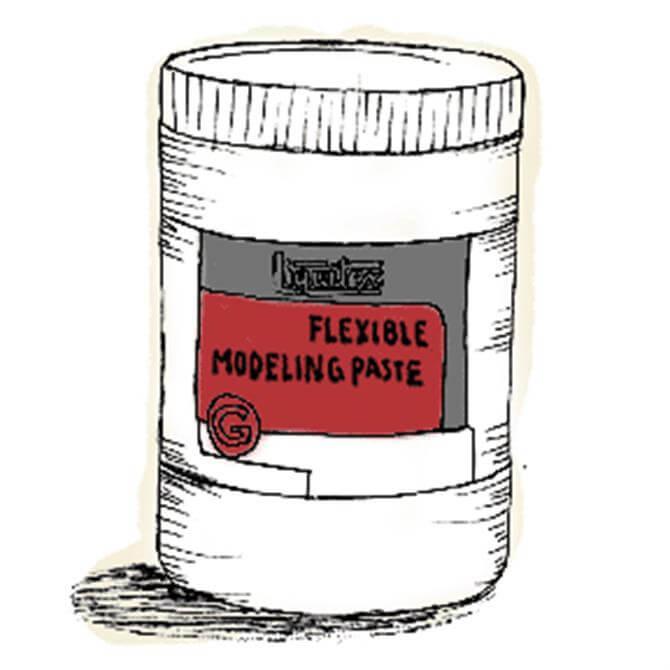Liquitex Flexible Modelling Paste