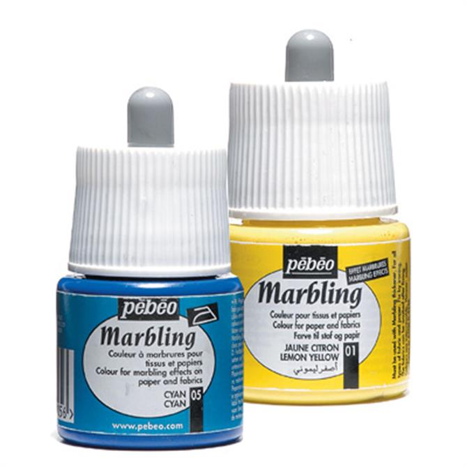 Pebeo Marbelling Ink for Paper and Fabric