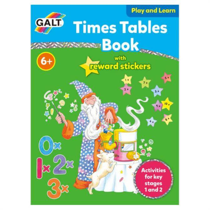 Galt Times Tables Play and Learn Book