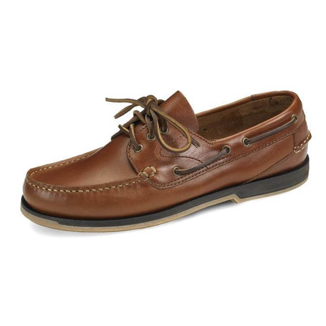 Loake Tan Waxy Deck Shoe 521T