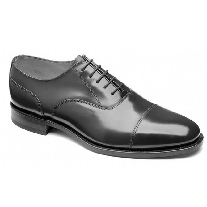 Loake Bank Black Oxford Shoes