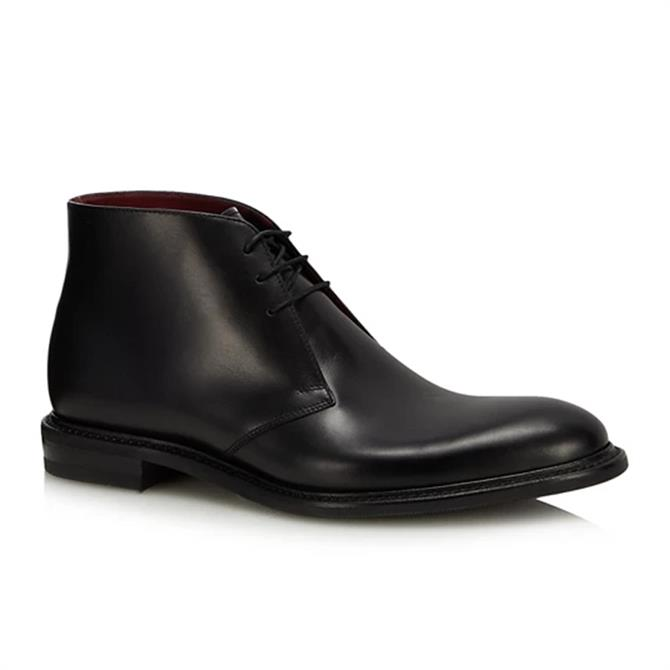 Loake Men's Spirit Black Chukka Boot