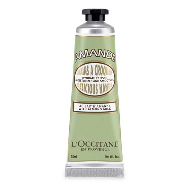 An image of Loccitane Almond Delicious Hand Cream 30ml