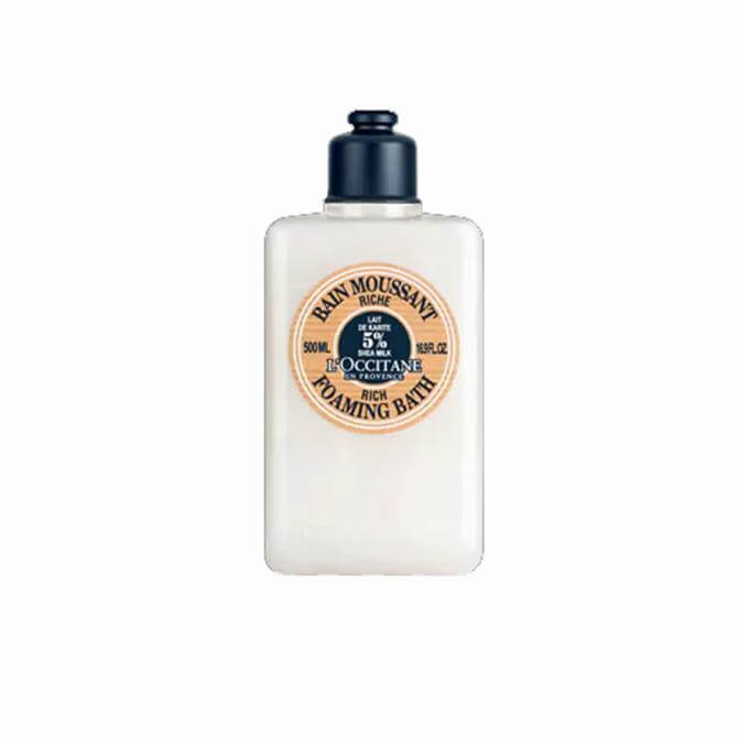 Loccitane Ultra Rich Foaming Bath - Shea Butter 500ml