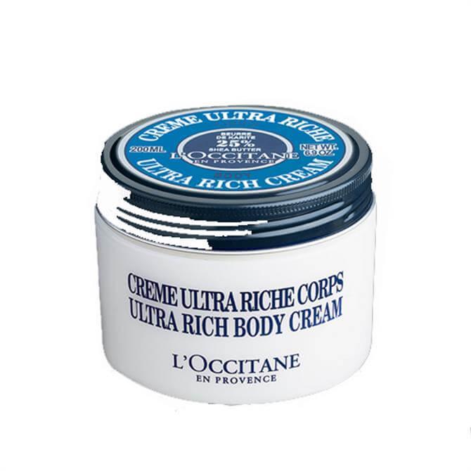 Loccitane Ultra Rich Body Cream 200ml