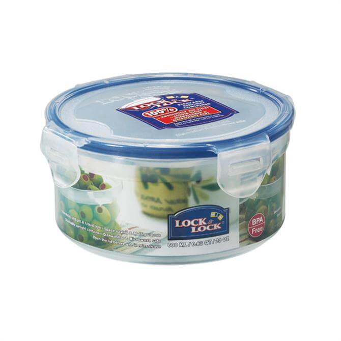 Lock & Lock Round Container 600ml