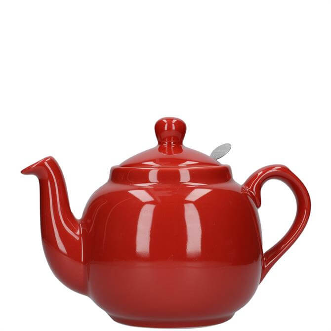 London Pottery Farmhouse 4 Cup Red Teapot