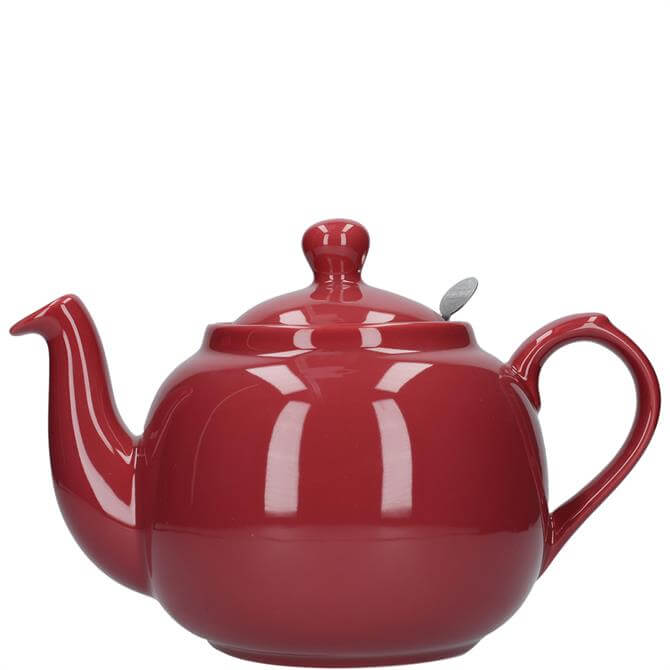 London Pottery Farmhouse 6 Cup Red Teapot