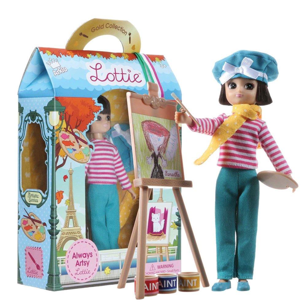 An image of Lottie Always Artsy Doll