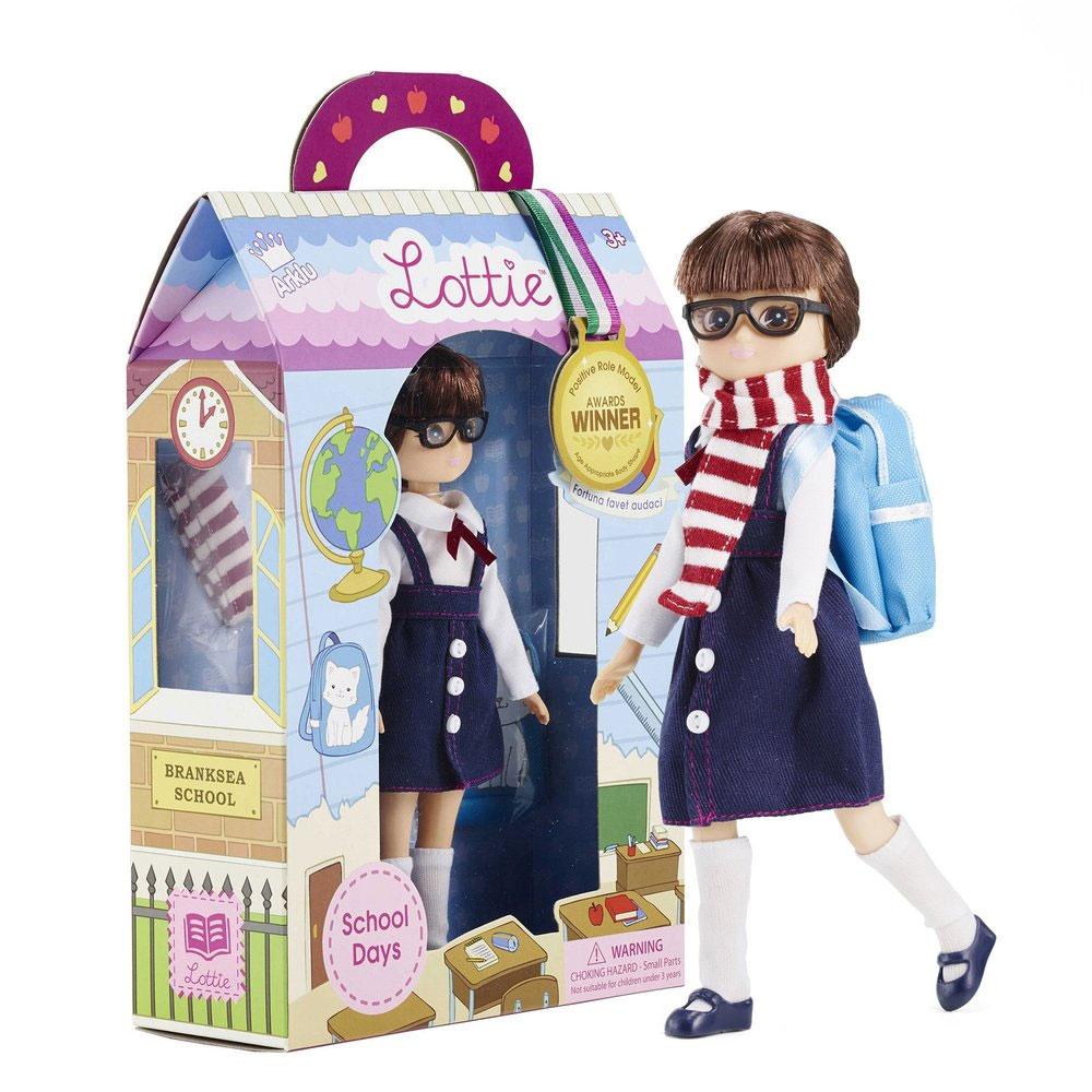 An image of Lottie School Days Doll