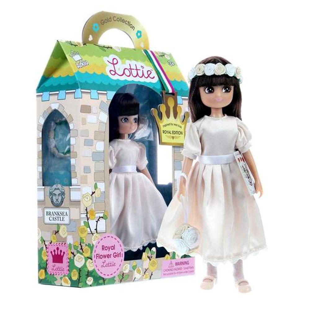 An image of Lottie Royal Flower Doll