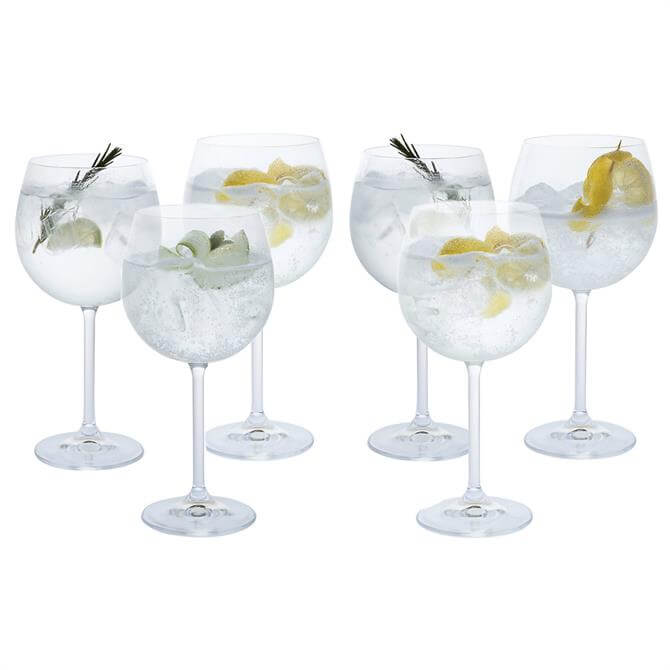 Dartington Party Copa Gin Glasses: Set Of 6