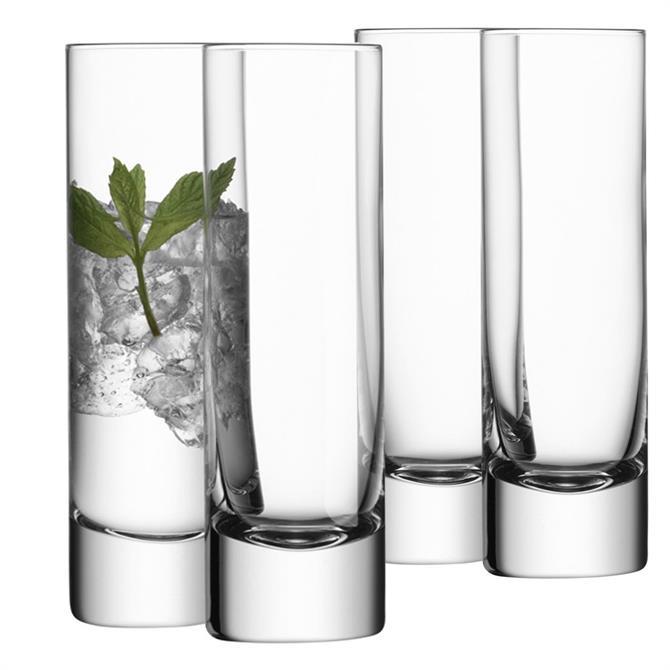 LSA Bar Highball Glasses: Set Of 4