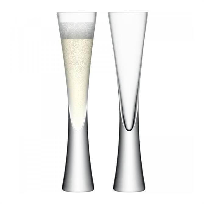 LSA Moya Champagne Flutes: Set Of 2