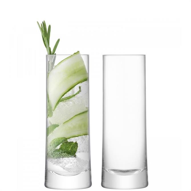 LSA International Set of 2 Gin Highball Glasses