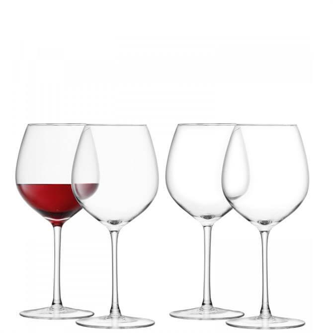 LSA International Set of 4 Red Wine Glasses