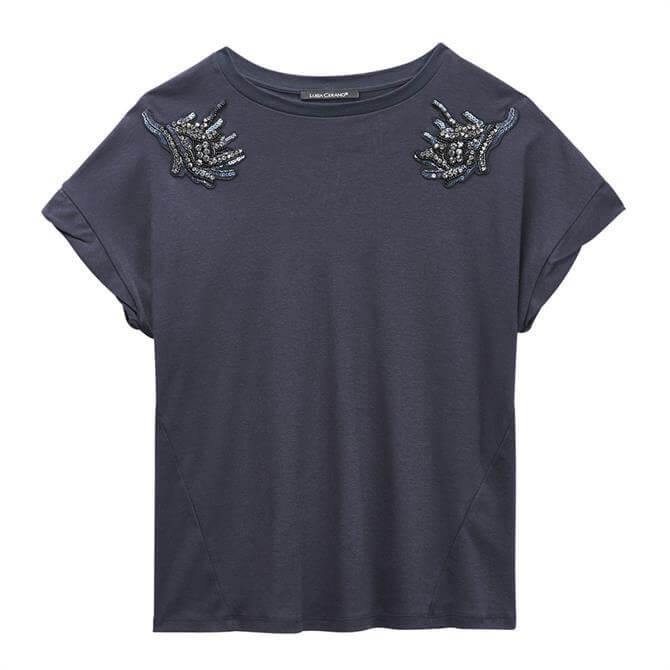 Luisa Cerano Beaded T-Shirt