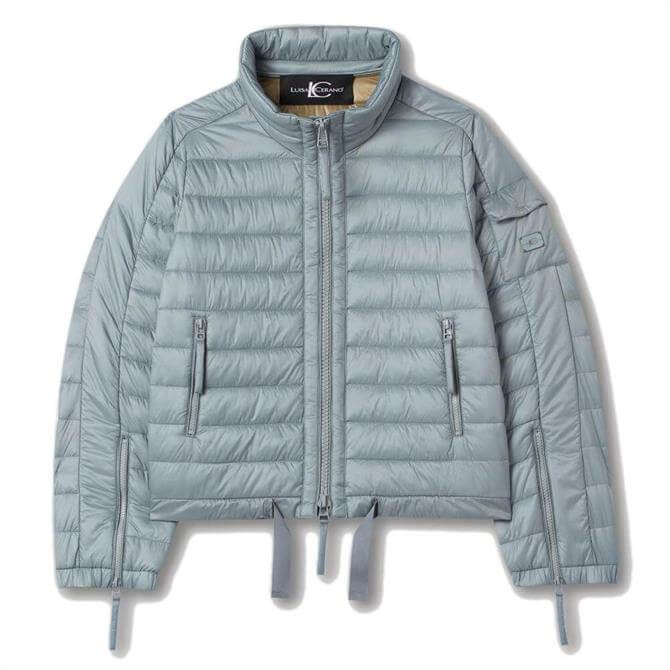 Luisa Cerano Featherless Short Quilted Jacket