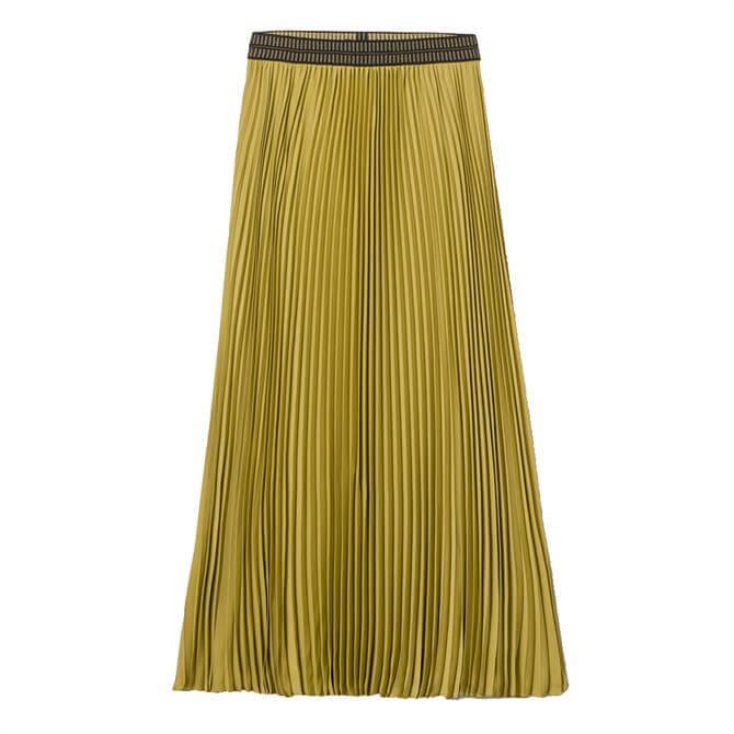 Luisa Cerano Maxi Pleated Skirt
