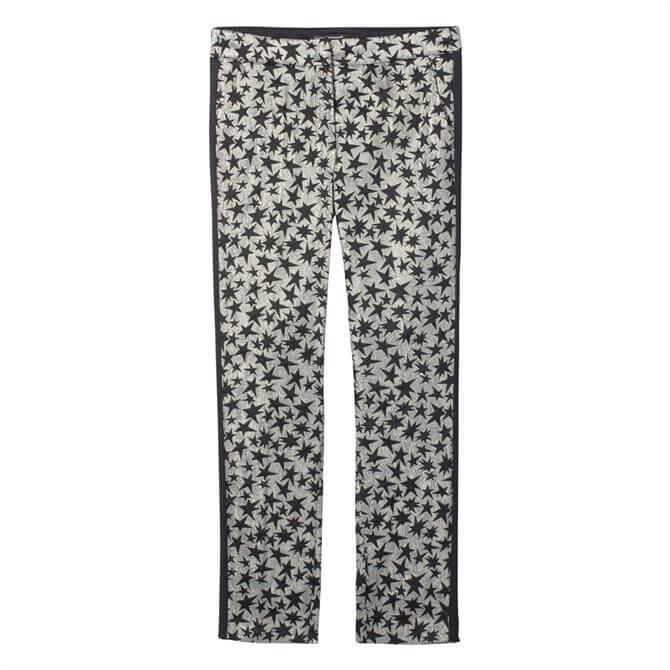 Luisa Cerano Star Print Trouser