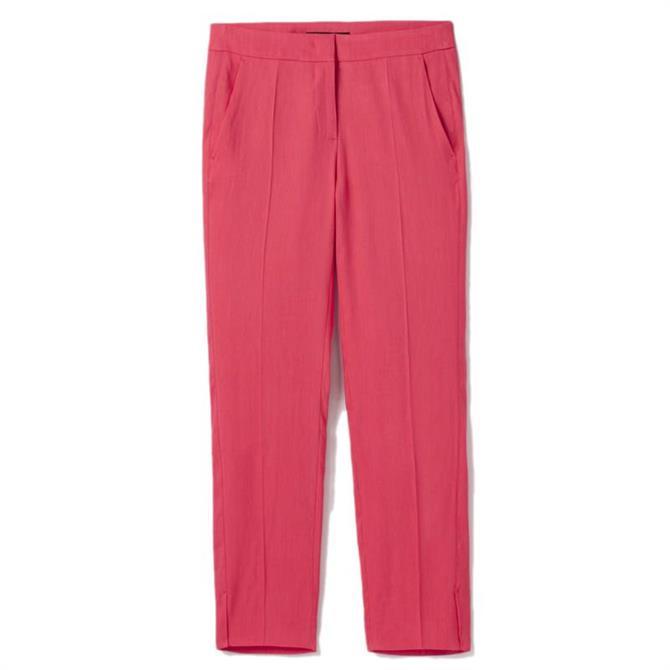 Luisa Cerano 7/8 Linen Trousers