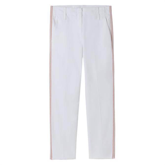 Luisa Cerano Side Striped Capri Trousers