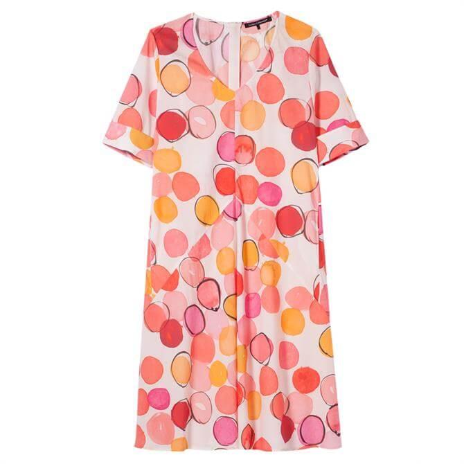 Luisa Cerano Spot Print Tunic Dress
