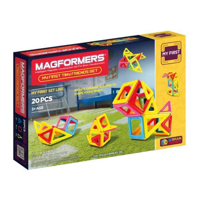 Magformers My First Tiny Friends 3D Set