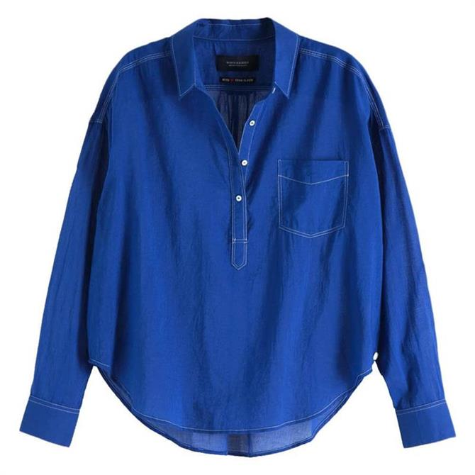 Scotch & Soda Lightweight Cotton Shirt